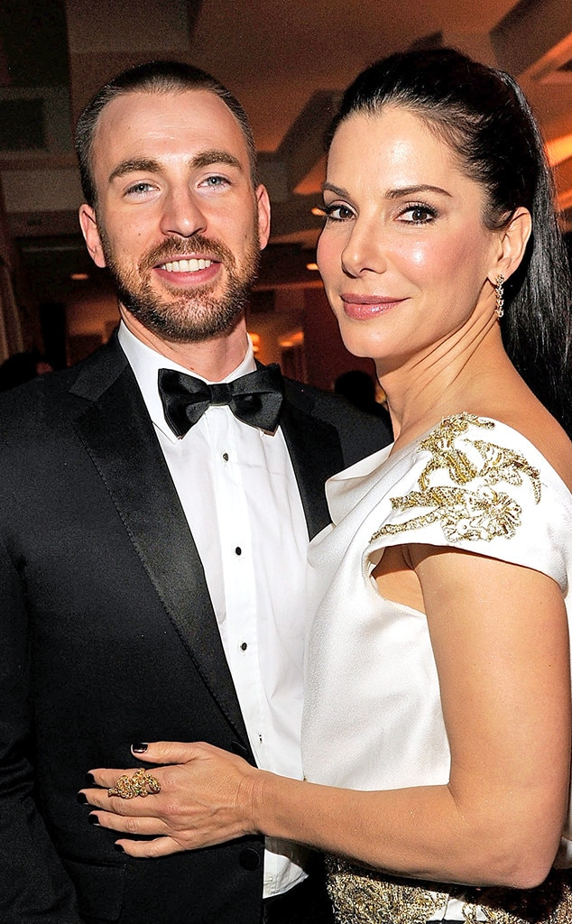 Is sandra bullock hookup chris evans